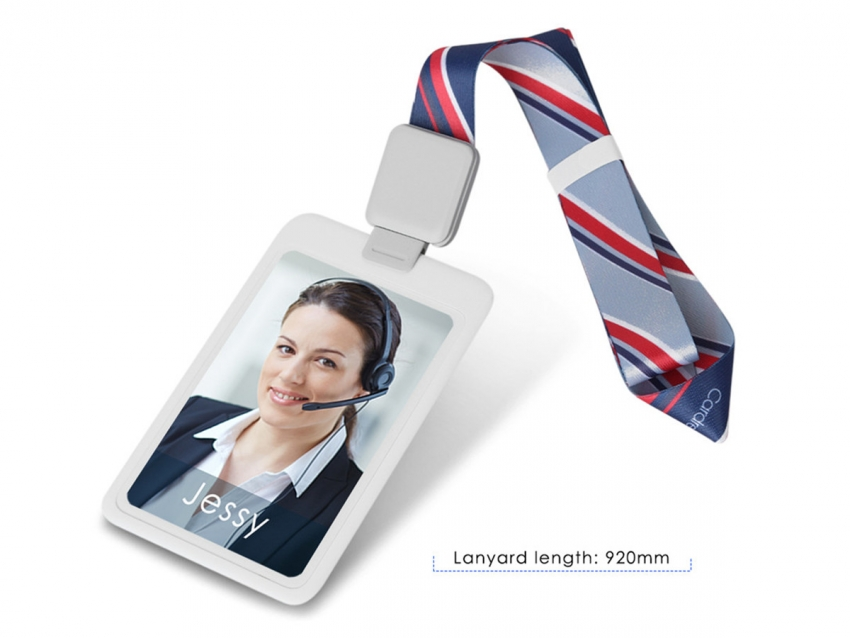 Customized Printed Full Color Flat Polyester Lanyards