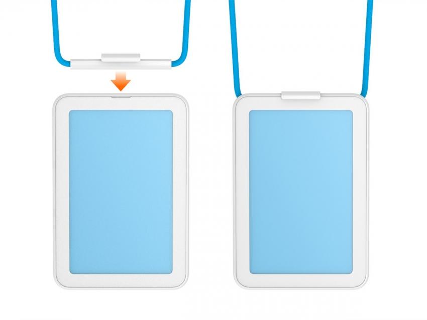 High End Design Vertical Name Badge Holder,Wholesale Vertical Name