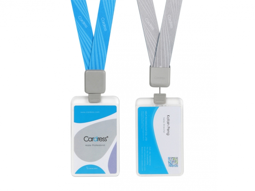 Retractable Waterproof ID Badge Holder