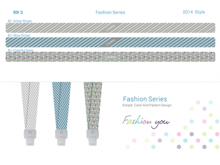 Fashion Design ID Card Neck Strap